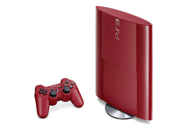 Play Station 3 roja