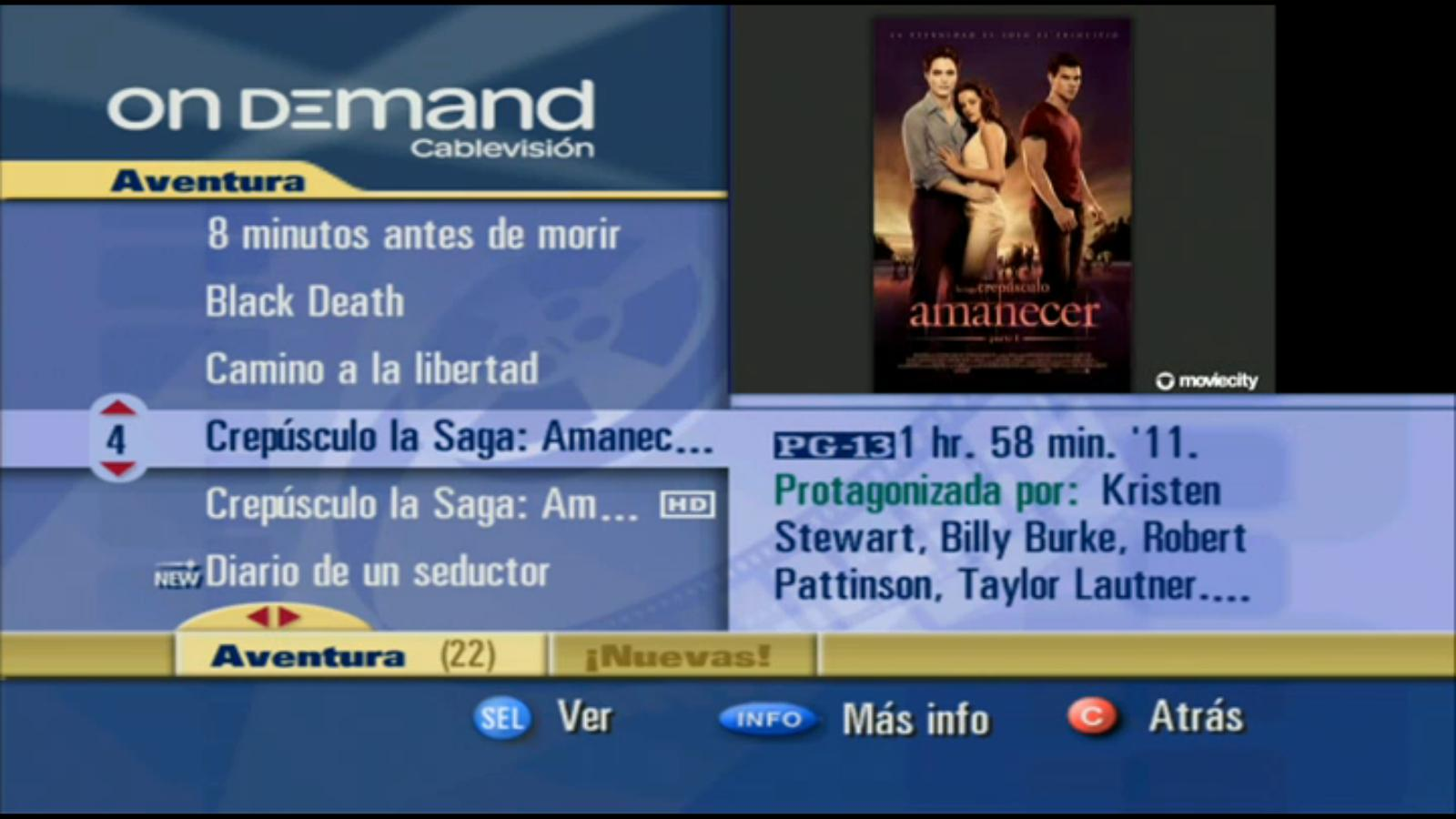 on demand cablevision