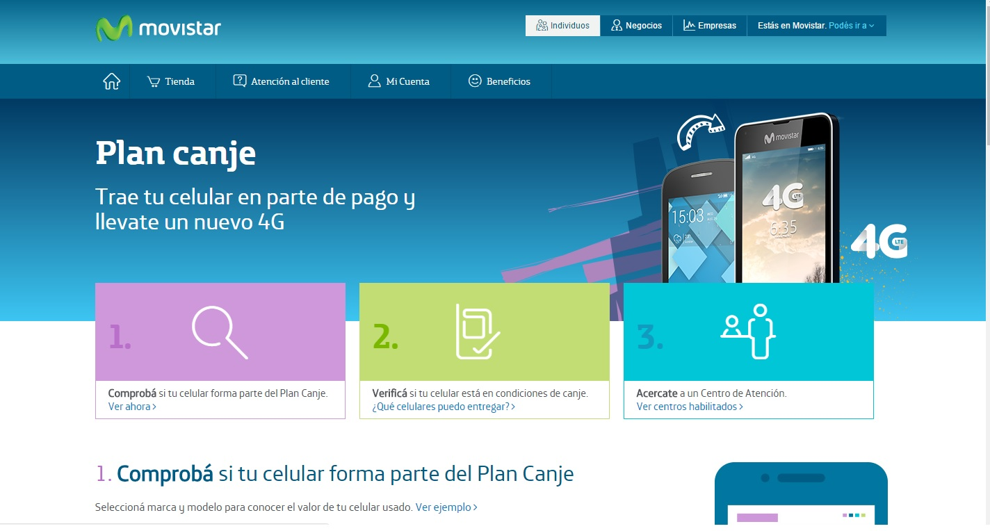 Movistar Plan Canje